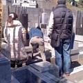 角田家の墓参り(3月21日)