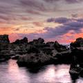 写真: 太夫崎海岸の朝 HDR