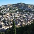 グラナダ:アランブラ宮殿・アルカサバからアルバイシン地区サクラモンテの丘