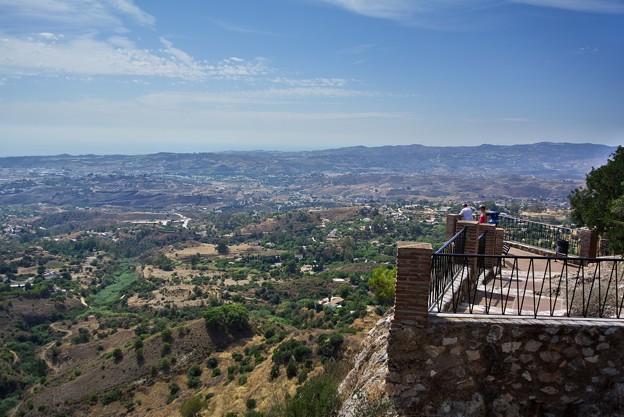 Photos: ミハス:展望台からの展望(地中海)(スペイン)