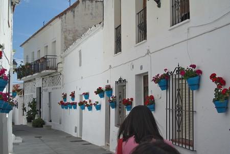 ミハス:アルガロボ通り(スペイン)