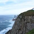 Photos: ロカ岬(灯台と北側の断崖)(ポルトガル)