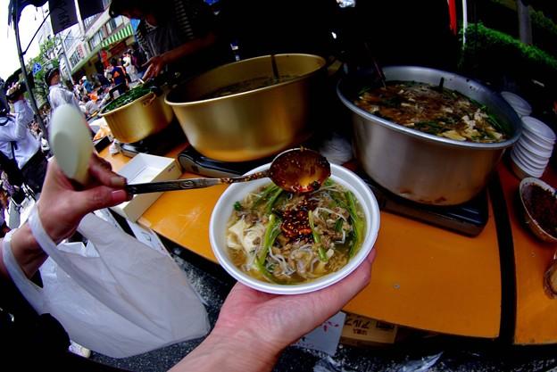 IMGP0035下関市、肉汁、魚眼