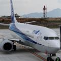 Photos: IMGP8249岩国錦帯橋空港、ボーイング737その3