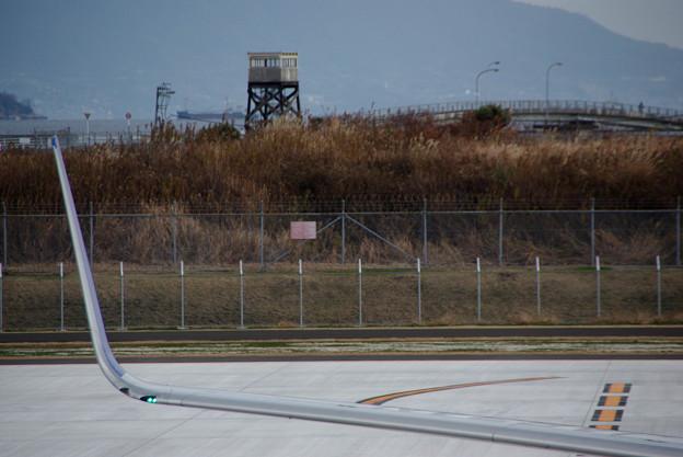 Photos: IMGP8252岩国錦帯橋空港、ボーイング737