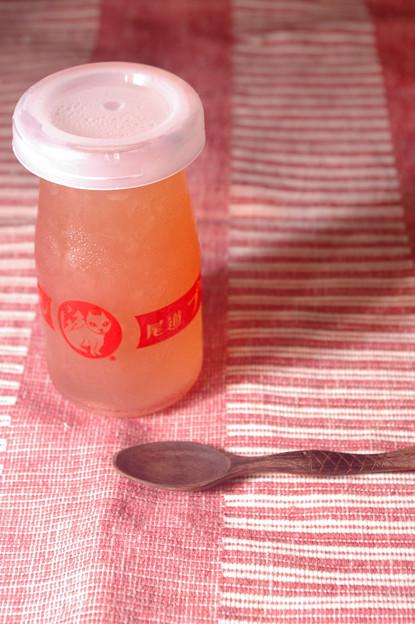 IMGP8793自作、桃のゼリー