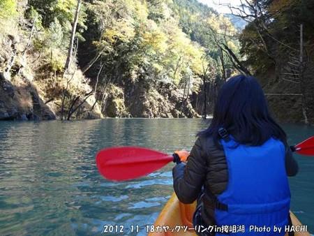 2012-11-18カヤックツーリングin接岨湖 (8)