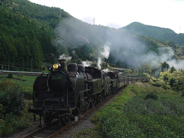大井川鉄道  SL重連