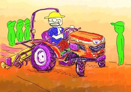 トラクター教習