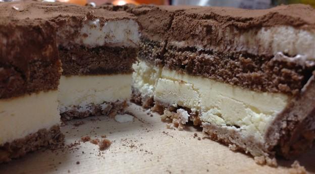 雪どけチーズケーキティラミス