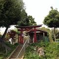 附島氷川女体神社(緑区大間木)