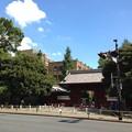 Photos: 東大赤門前。