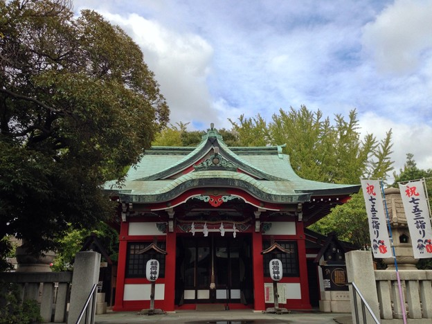 河原町稲荷神社(千住河原町)