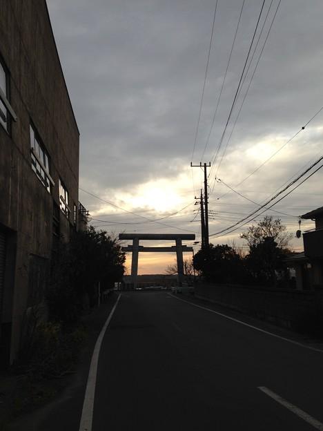 写真: 息栖神社(神栖市) 一の鳥居