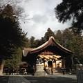 諏訪大社下社秋宮 神楽殿。