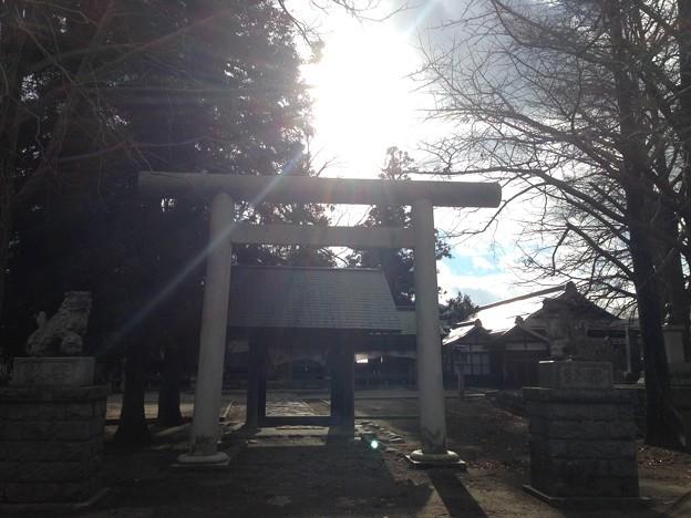 諏訪護国神社(諏訪市立高島公園)
