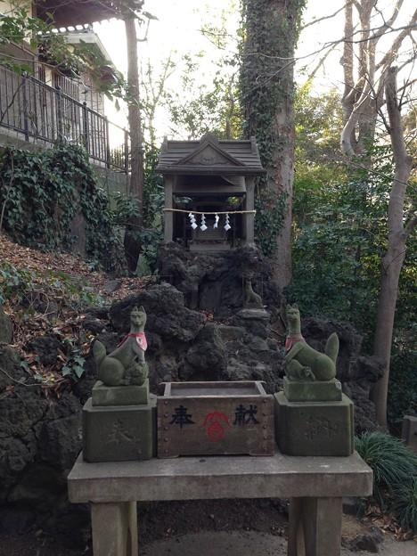 河越城 富士見稲荷神社