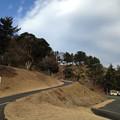三増峠古戦場の空(旗立て松の山麓より)