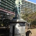 榎本武揚像(墨田区堤通2)
