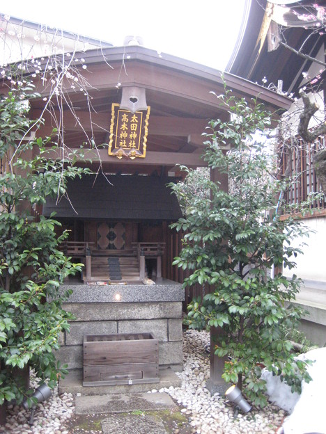 太田・高木神社(牛天神。文京区春日)