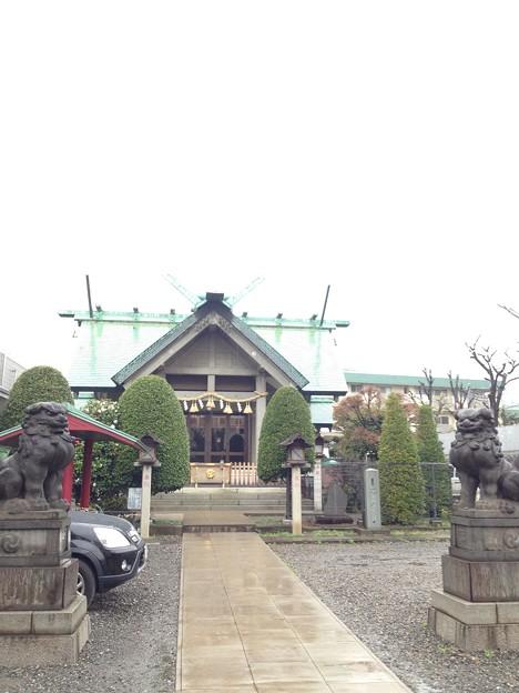 簸川神社(文京区)