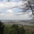 滝山城跡本丸より(都立滝山公園。八王子市)