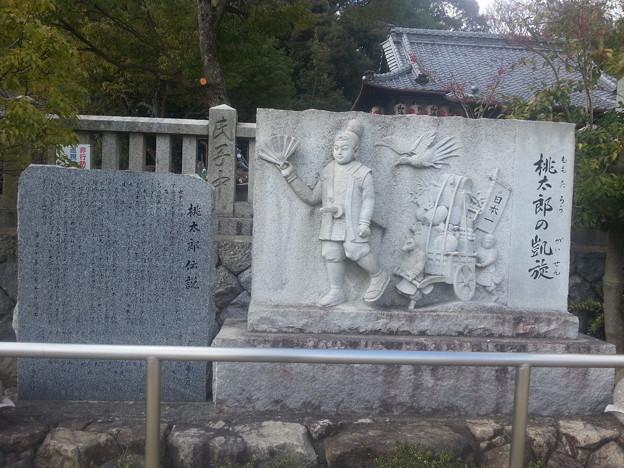 鬼無 桃太郎神社に着きました (>_<)