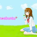 写真: clover_girl_1600x1200_logo