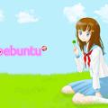 写真: clover_girl_1920x1200_logo