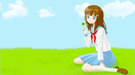 clover_girl_1920x1080