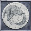 Photos: 月時計