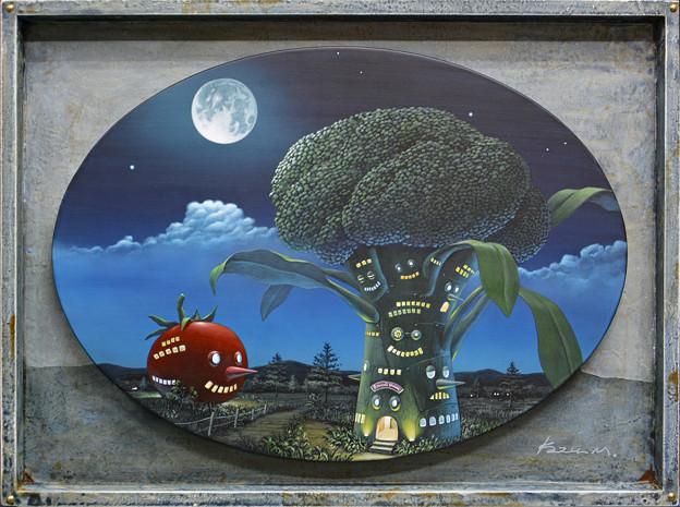 ブロッコリー&トマトの家
