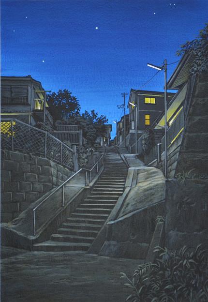 写真: 夜景・八王子某所