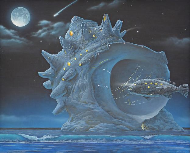 刻・宇宙的なサザエ  Junk Planet - Cosmic Turban Shell