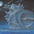 Photos: 刻・宇宙的なサザエ  Junk Planet - Cosmic Turban Shell
