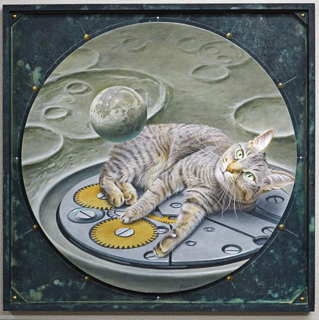 月時計5  Moon Clock 5