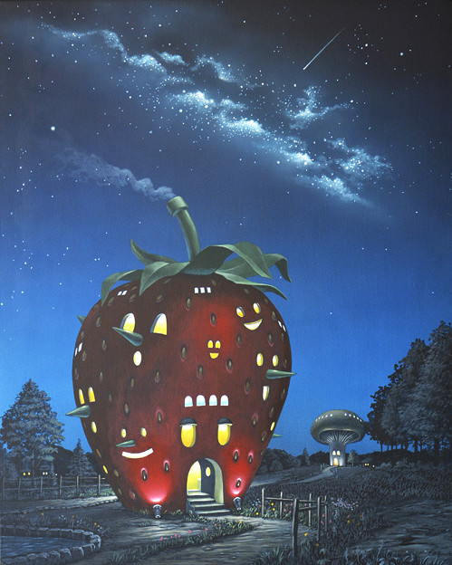 いちごの家 Strawberry House