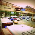 Photos: バスの大行列。