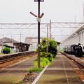 Photos: 昭和40年代風な川尻駅。