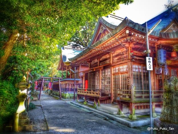 立田阿蘇三ノ宮神社。