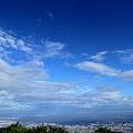 六甲山展望台にて