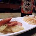 写真: 成増 旭町 グルメ・スナック ひいらぎ(柊) 今夜のお通し ウィンナー炒め