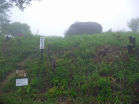 万年山~吉武台牧場から歩く(3)まんじゅう石