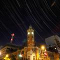 Photos: 西の空に沈むペガスス座と横浜市開港記念会館