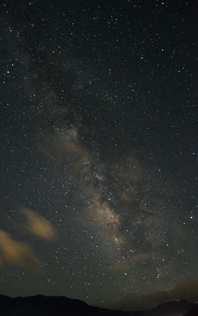 2013年七夕の夜の天の川