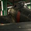 宇佐市平和資料館 零式艦上戦闘機21型模型 後