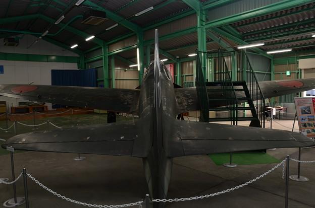 宇佐市平和資料館 零式艦上戦闘機21型模型 背景