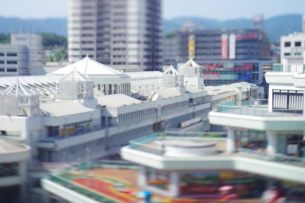 宮殿のようなショッピングモール。