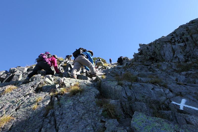 IMG_8992北アルプス西穂高岳登山