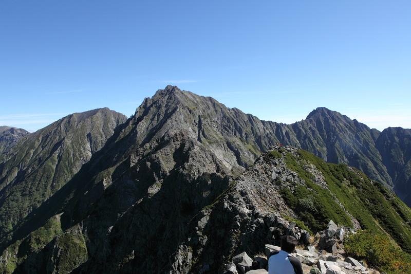IMG_9005北アルプス西穂高岳登山